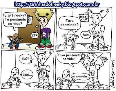 Tirinhas do Freeky