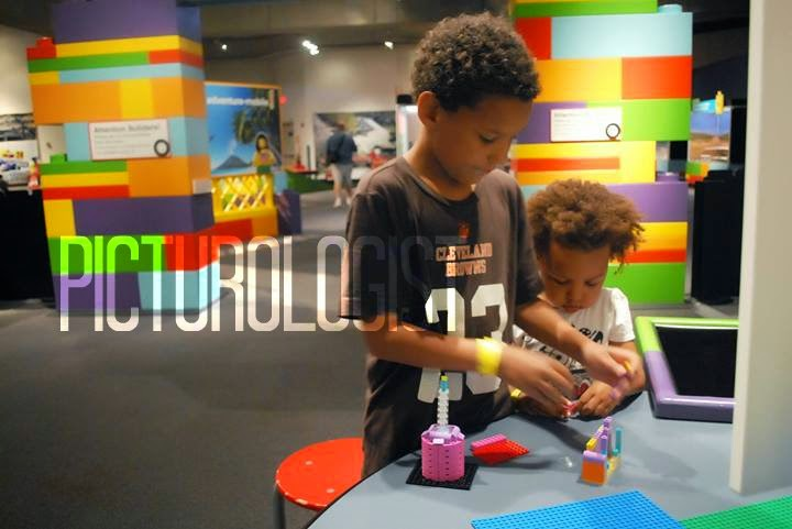 Lego Adventure at Great Lakes Science Center