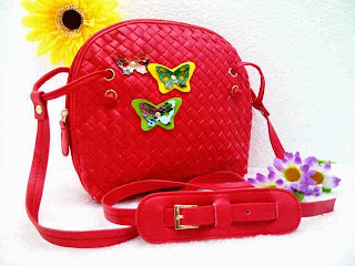 Tas Botega Mini Butterfly Model Terbaru