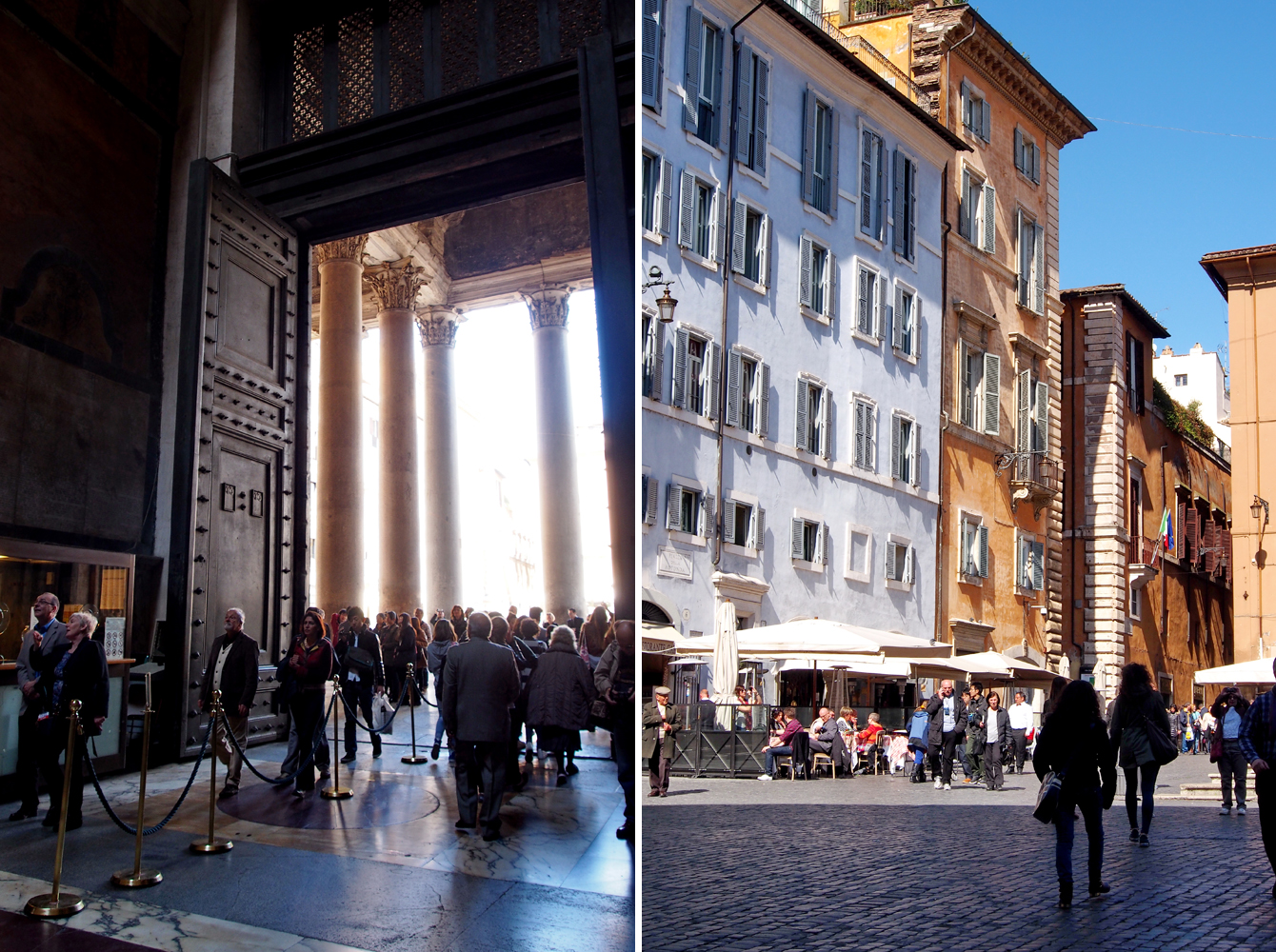 """Roms Altstadt – Ein Sehenswürdigkeiten-Rundumschlag // das Pantheon und der Piazza della Rotonda - """"Fee ist mein Name"""""""