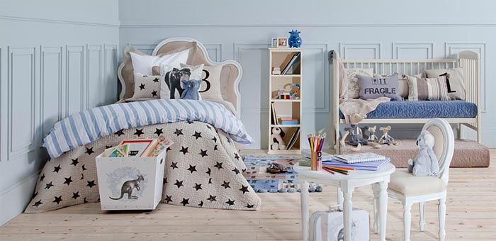 Dormitorios para ni os de zara home kids decoracion endotcom for Muebles zara home