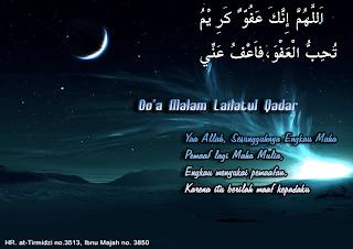 Do'a Malam Lailatul Qadar