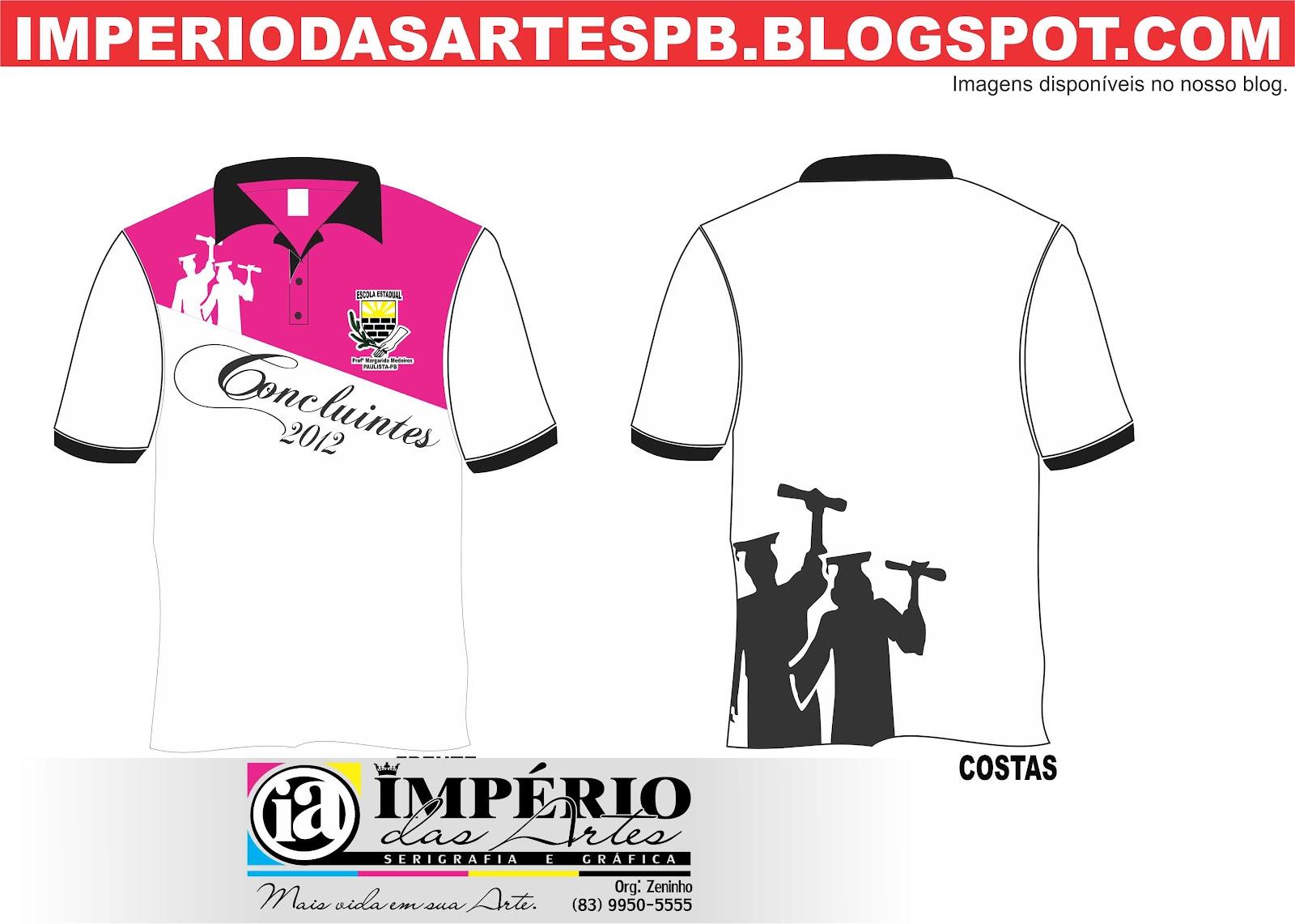 Imperio Das Artes Fardas Dos Concluintes 2012
