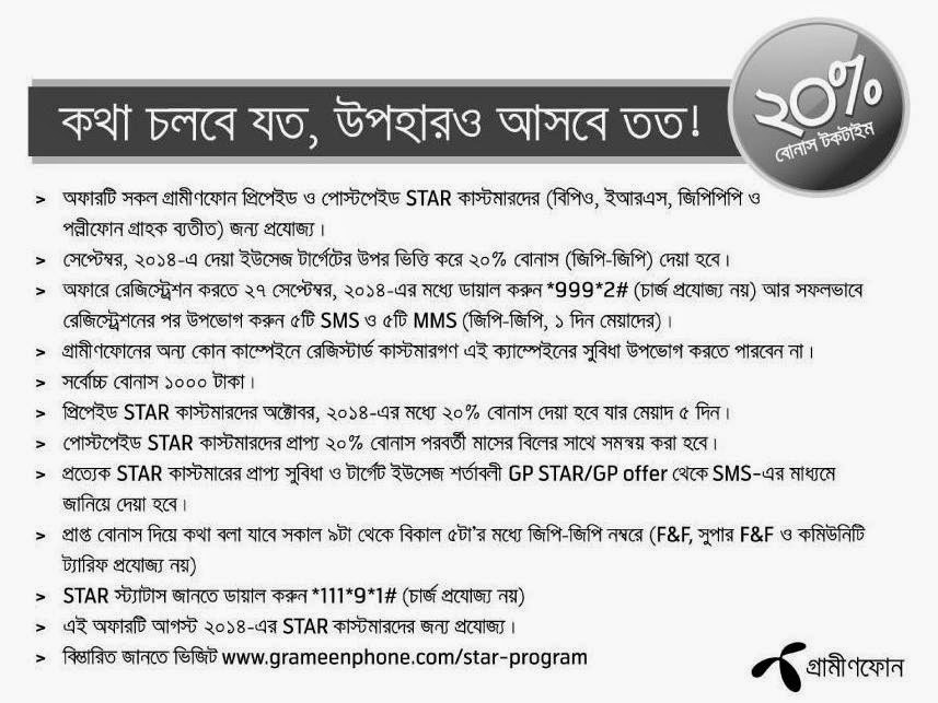 Grameenphone-star-bonus-on-Target-Talktime-usage