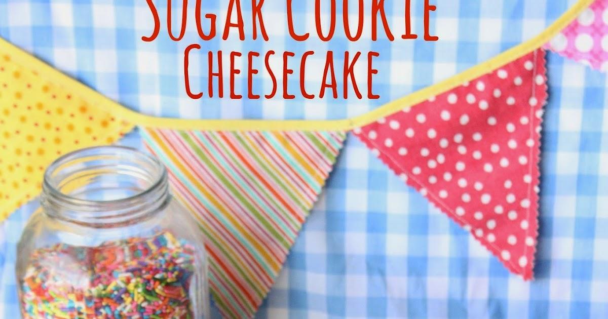 Munchkin Munchies Sugar Cookie Cheesecake