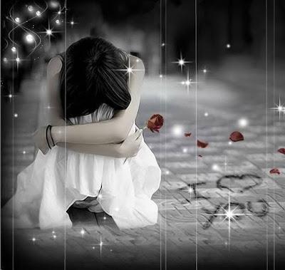 Hình ảnh avatar tình yêu buồn khóc