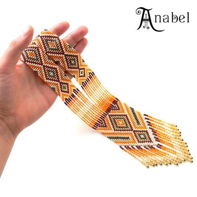 купить гердан гайтан этнические изделия из бисера в украине анабель Anabel