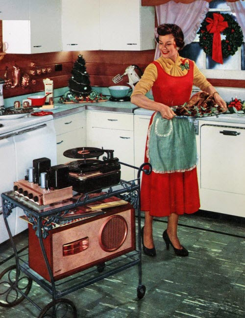 Música Portable en 1950