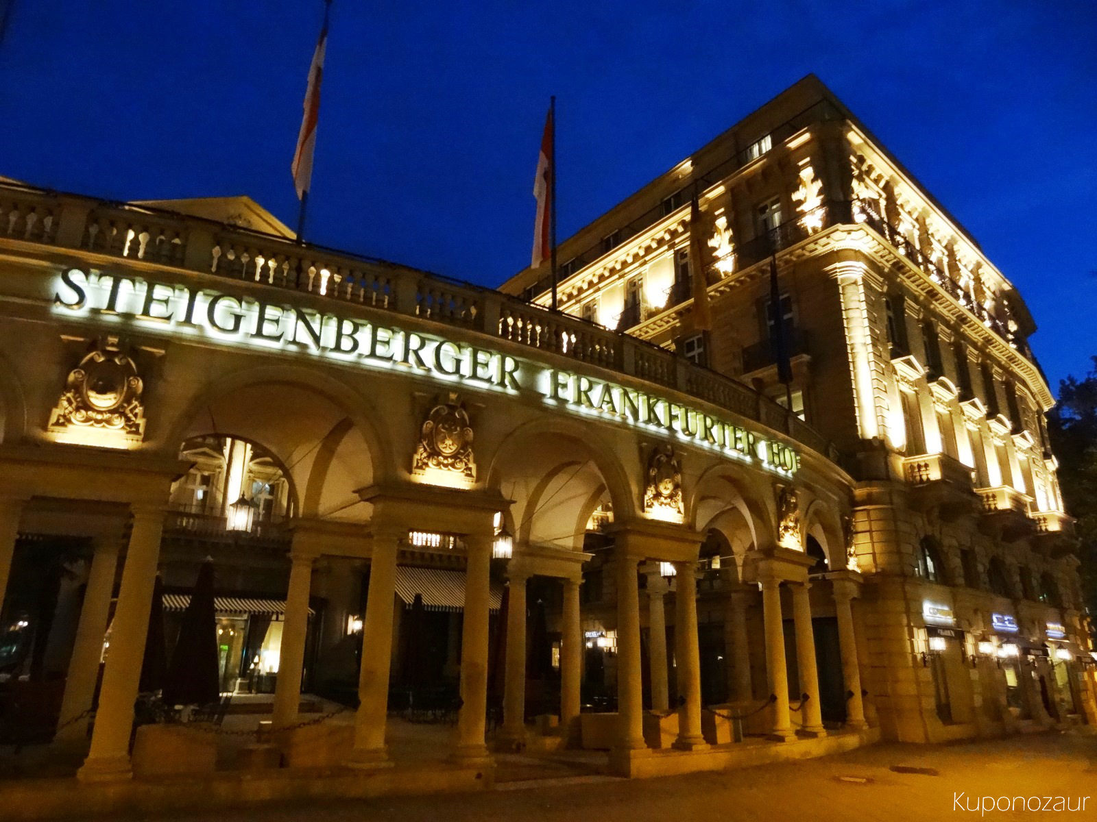 Frankfurt hotel Steigenberger Frankfurter-Hof