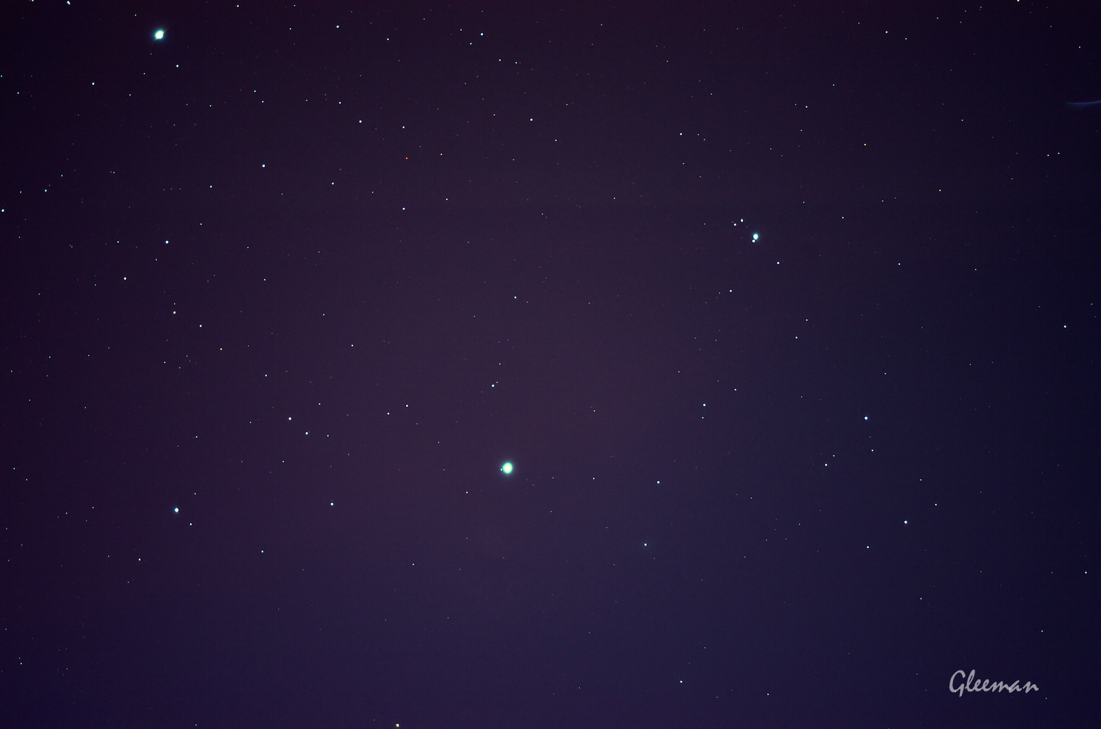 [Pentax MS-3赤道儀] 手動導星 manual guiding。Pentax 75SDHF+K5(等效750mm)。導星使用Vixen mini 60s(300mm) 加 televue 2.5x 加 LG-5。