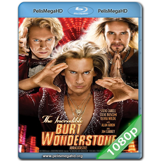 EL INCREÍBLE BURT WONDERSTONE (2013) FULL 1080P HD MKV ESPAÑOL LATINO