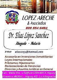 Dr. Elias López Areche Lawyer and  Notary