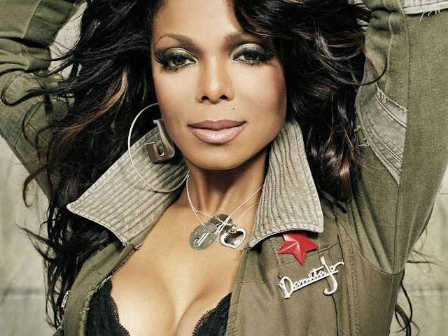 Janet Jackson HD Wallpaper -01
