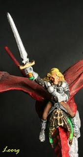Jinete del Dragon Masters rojo