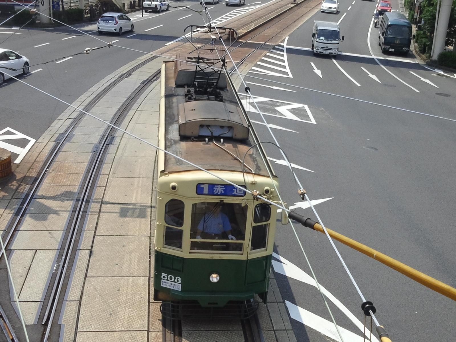 長崎電気軌道503号車