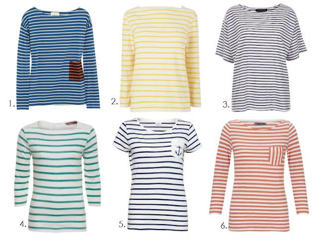 Breton t-shirts