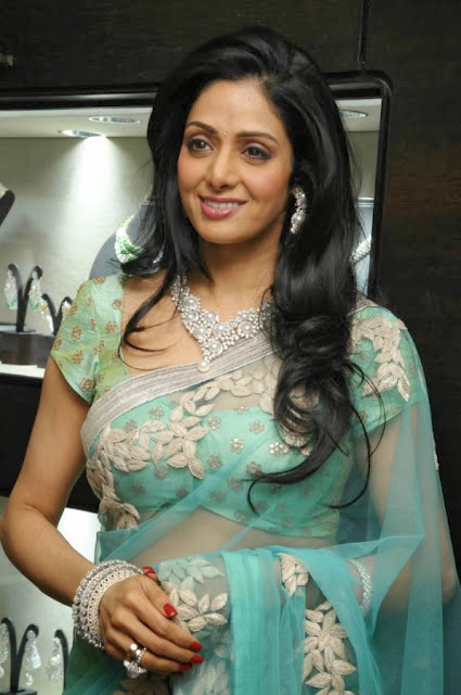 Sridevi Latest In Saree Collection