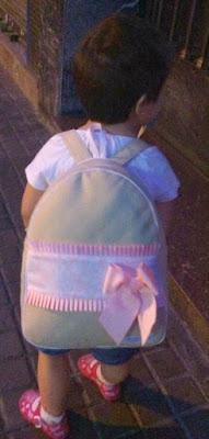 Mochila infantil en polipiel