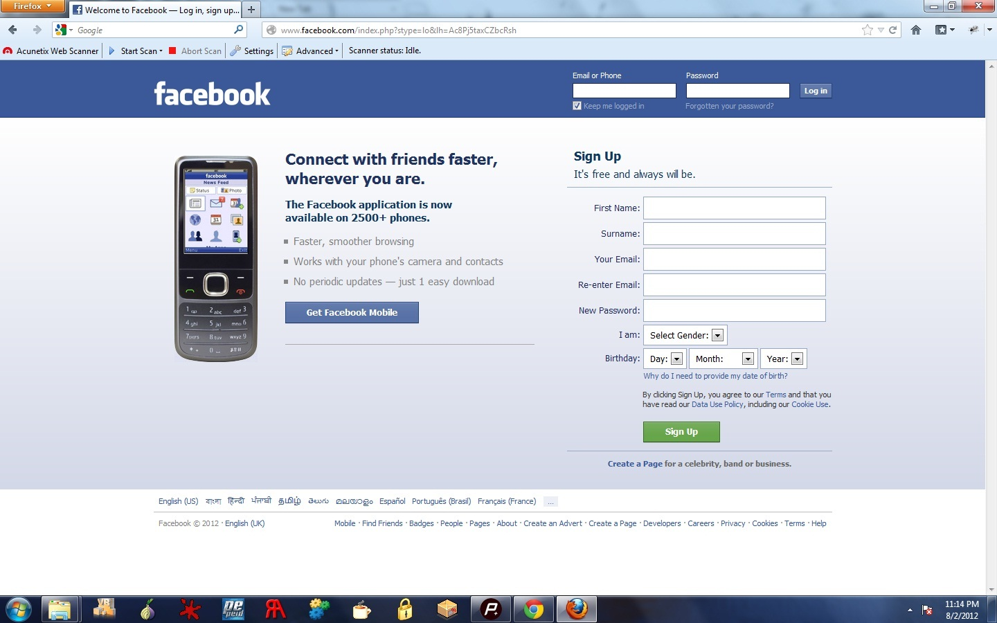 T3chfo By 4ks W0rm How To Make A Facebook Phishing Page