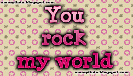 you rock my world love quotes images