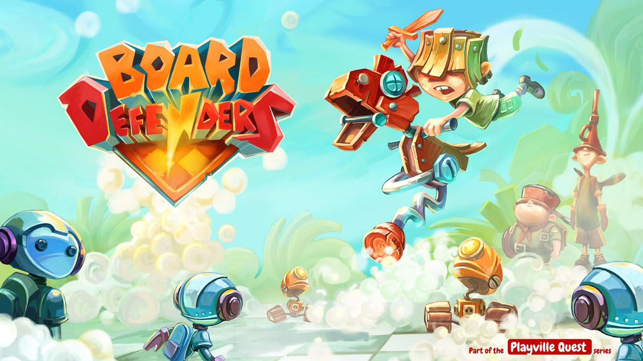 Board Defenders Gameplay IOS / Android