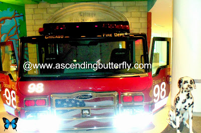 Fire Truck Cab, Chicago Fire Department, Pierce Manufacturing, Engine 98