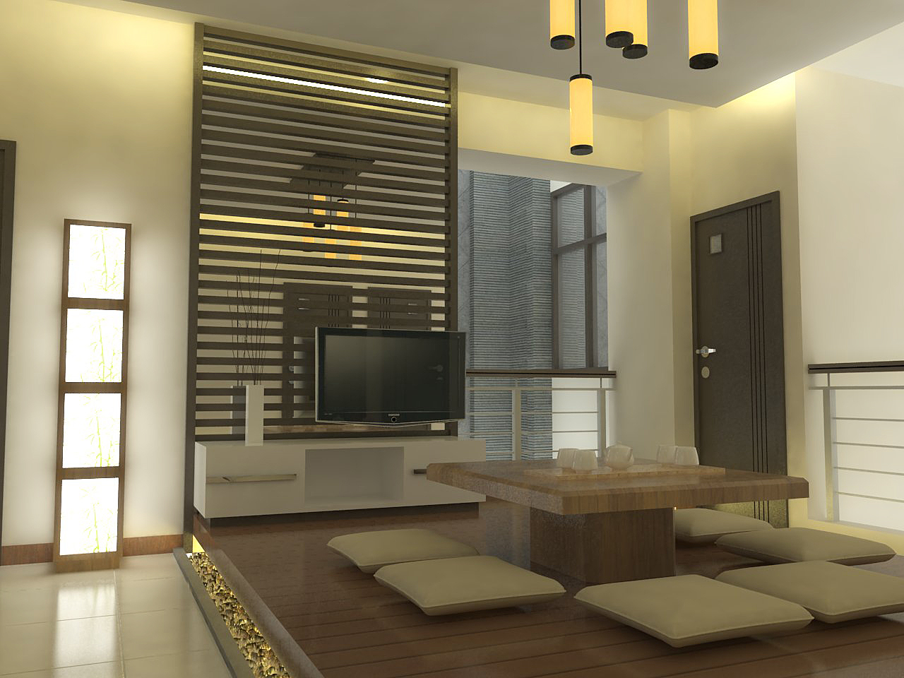 Gambar design interior apartemen 2 kamar bedroom design for Design apartemen 2 kamar
