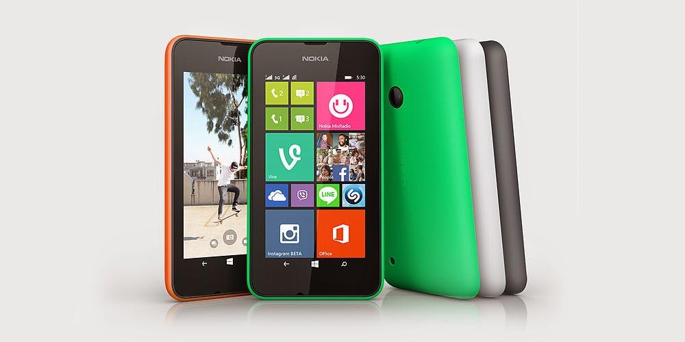 Warna-Warni Nokia Lumia 530 Dual SIM
