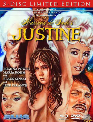 Marquis de Sade's Justine Blu-ray cover