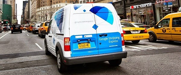 Same-Day Delivery Service by Google Expanded to Manhattan, LA