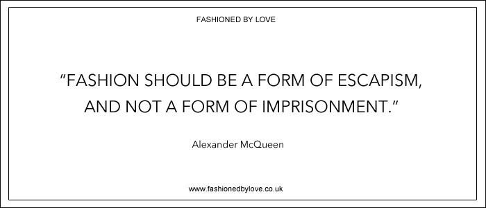 via fashioned by love | best fashion & style quotes | Alexander McQueen