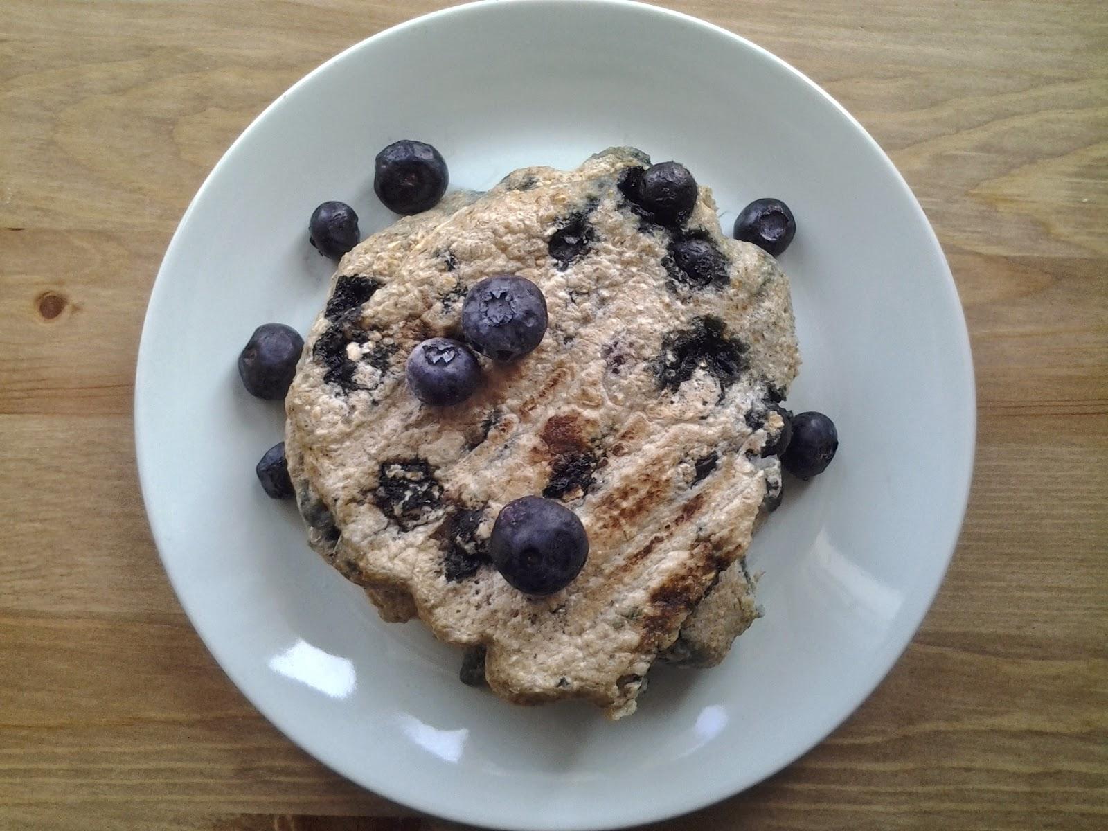blueberry pancake george foreman