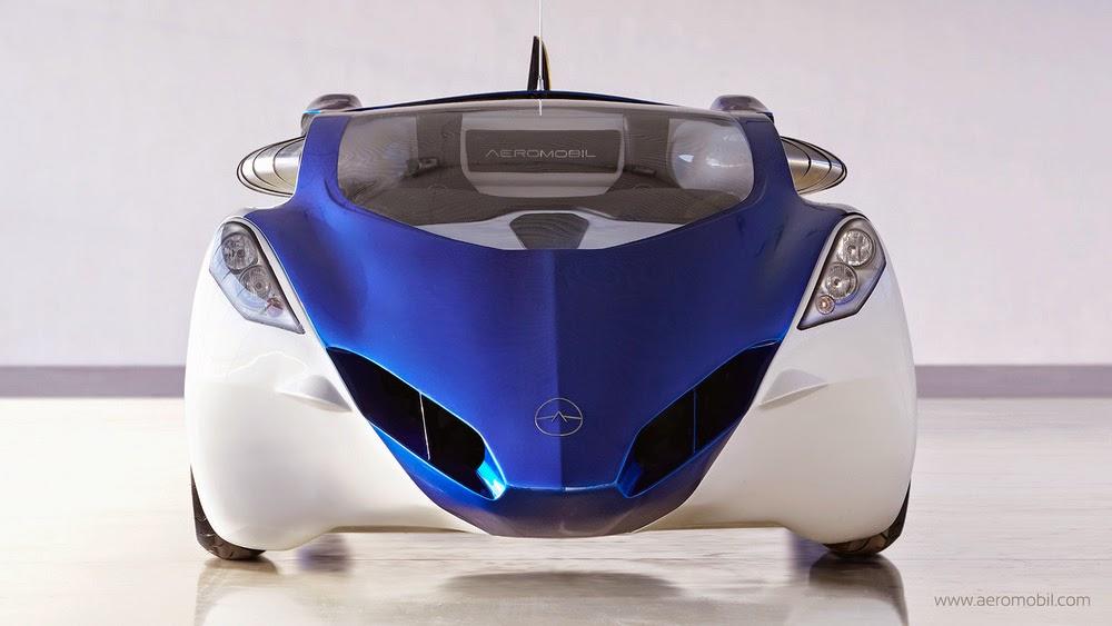 Mobil Terbang Aeromobil 3.0 Bagiang Depan