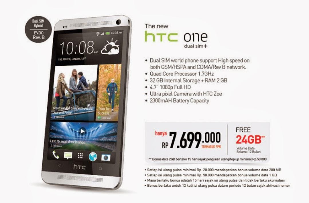 Harga Smartfren HTC One