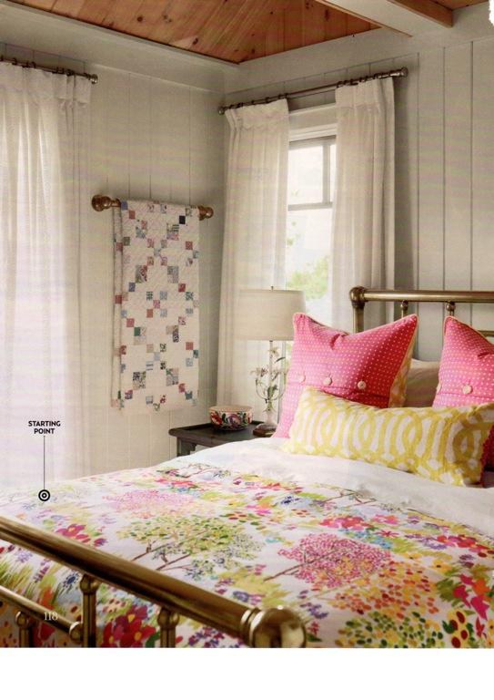 Design maze sarah richardson summer palette cottage style for Bunkie interior designs