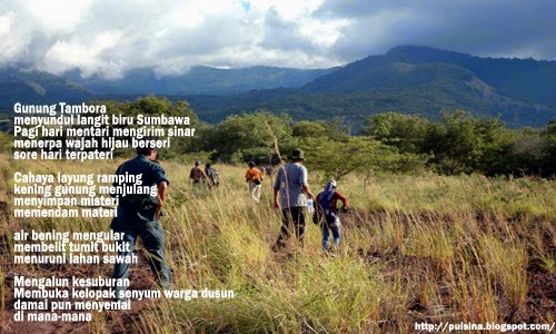 Puisi Kenangan : Gunung Tambora karya Dinullah Rayes