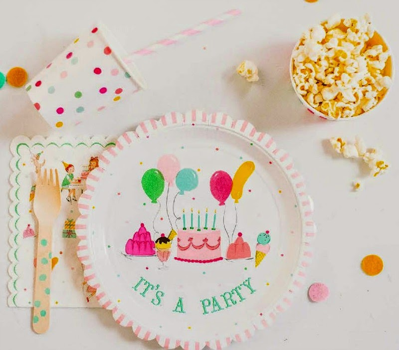 Shop Sweet Lulu's New Party Line, It's A Party plates