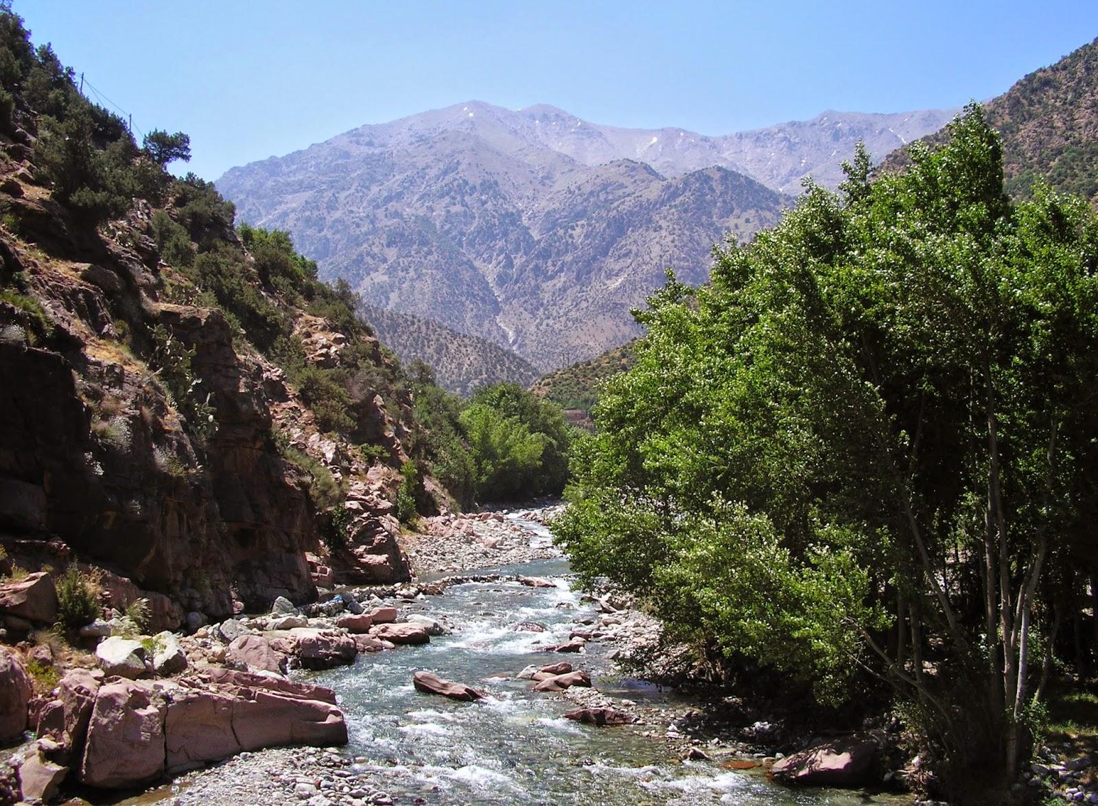 Resultado de imagen de cascadas de ourika