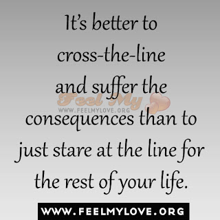 It's better to cross-the-line