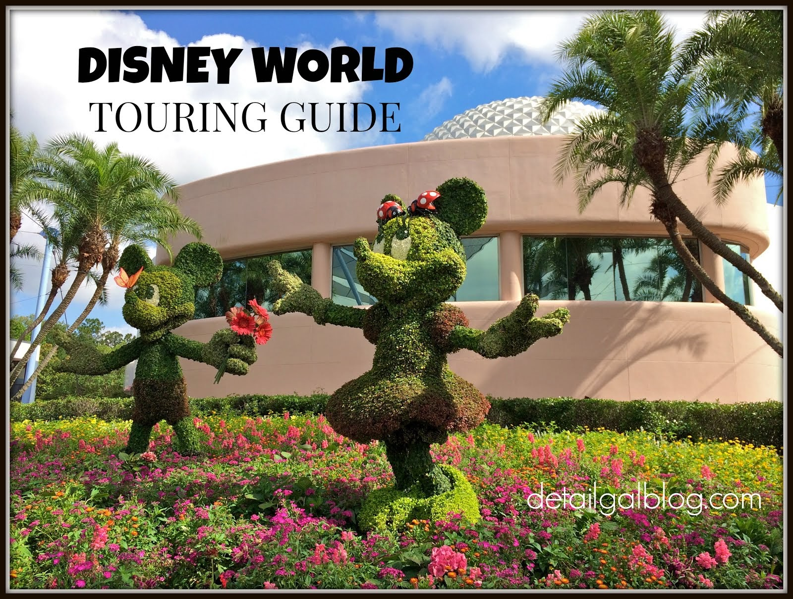 DISNEY WORLD ITINERARY PLANNING