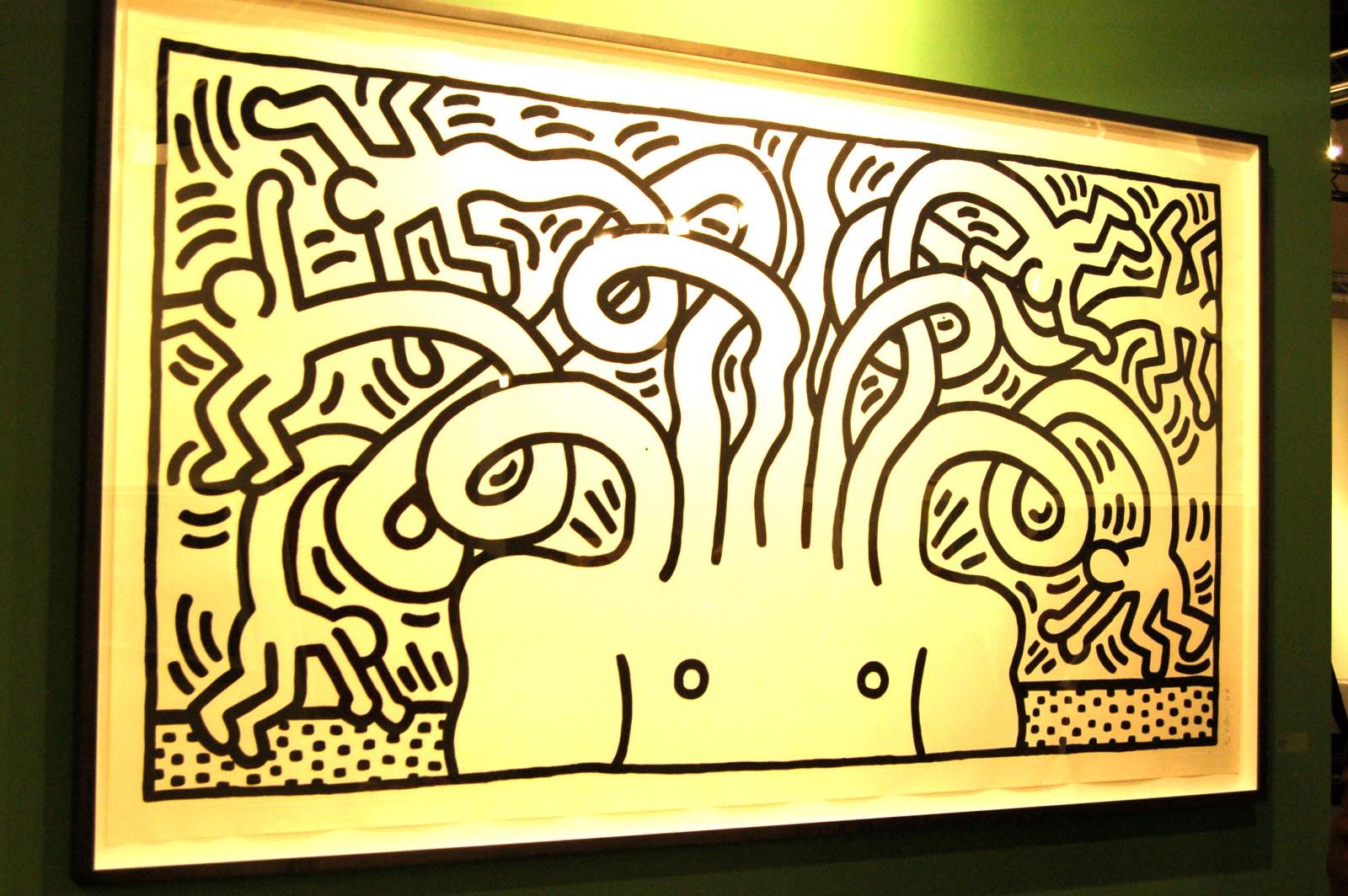 Keith Haring Barking Dog Tattoo