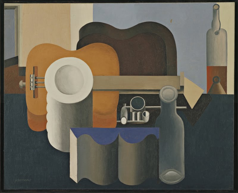 Le Corbusier, Natura morta con pila di piatti, olio su tela/ oil on canvas,1920, MOMA Museum NYC
