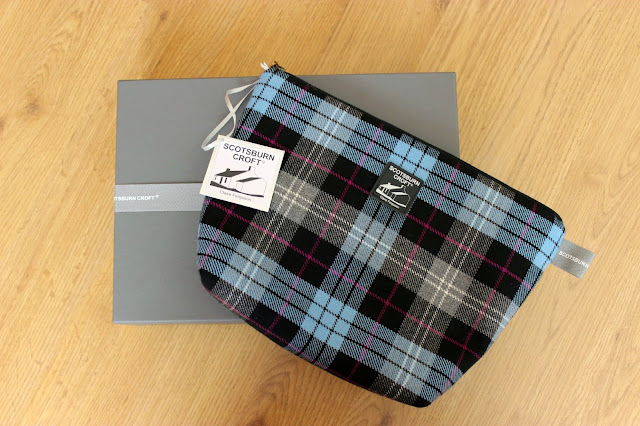 Picture of Scotsburn Croft by Claire Ferguson Tartan Wash Bag