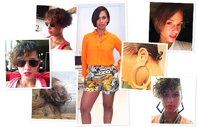 Alicia Keys New Haircut