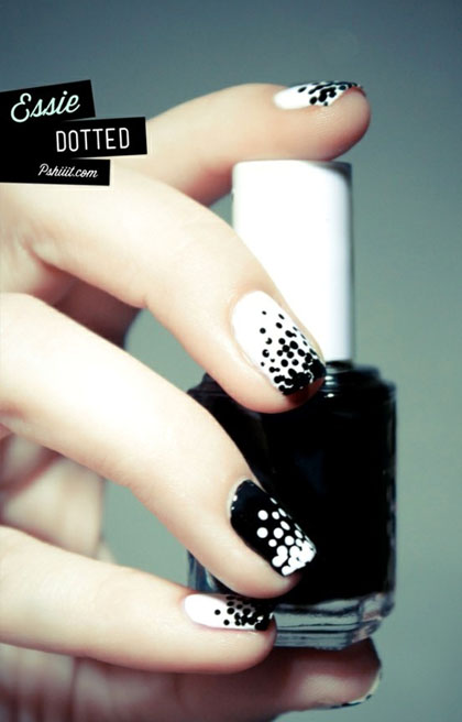 White Nail Designs by Essie Nail Polish