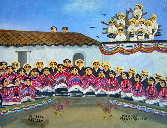 Pintura Maya Actual
