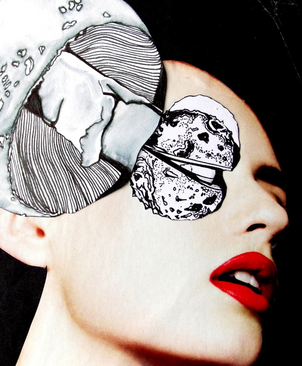 ©Rachel Burns - Collage, Mixed Media, Illustration