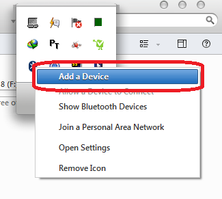 how to send music from phone to laptop via bluetooth