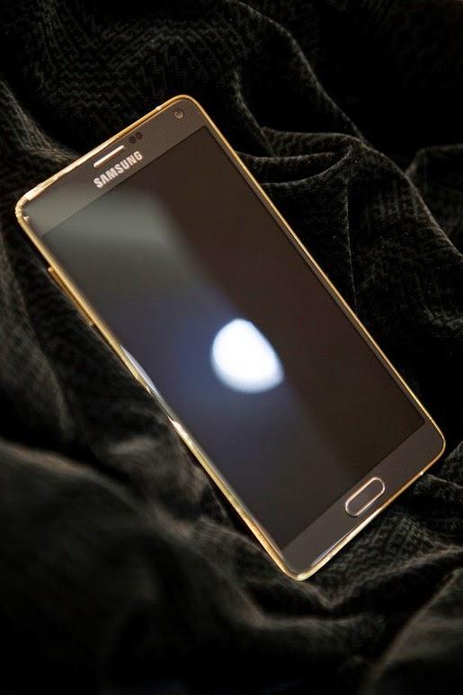 Galaxy Note 4 mạ vàng 24K tại Việt Nam