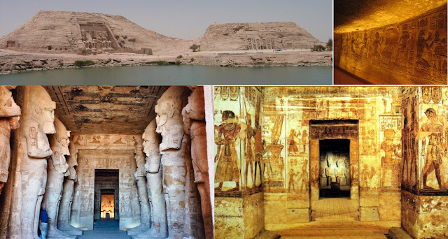 Templos de Abu Simbel en Egipto
